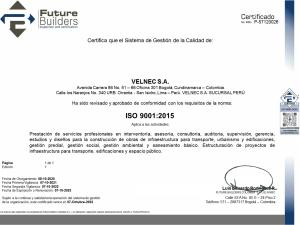 CERTIFICADO ISO 9001_PERU